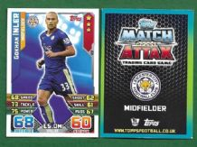 Leicester City Gokhan Inler Switzerland 122